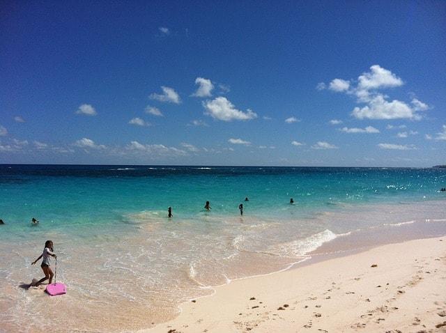 bermuda pink beach