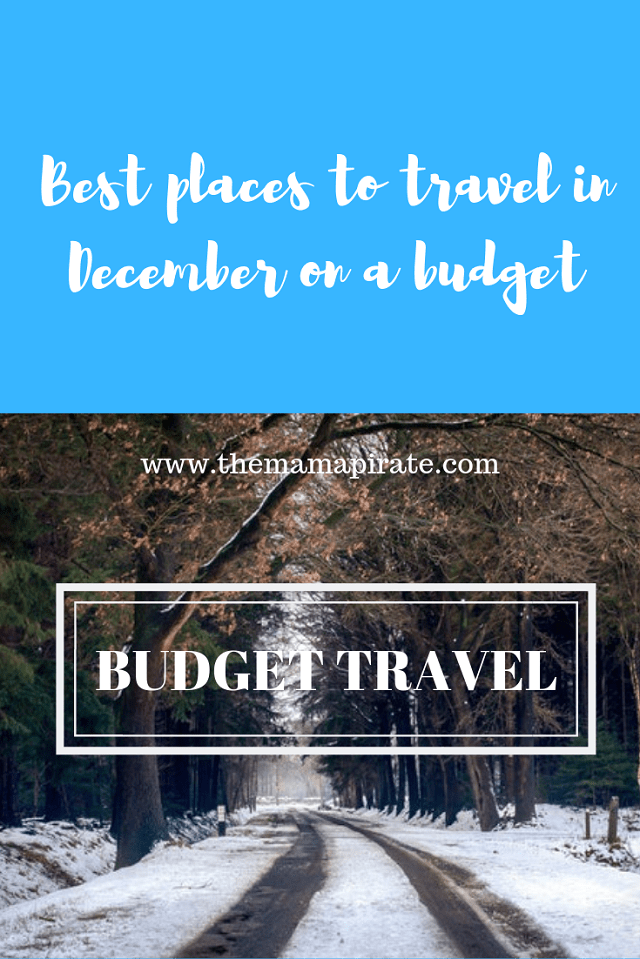 Best places to travel in December on a budget