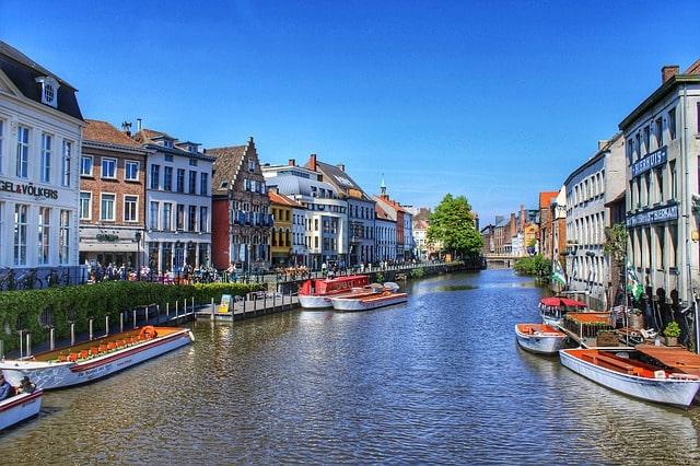 Ghent, Northwest Belgium