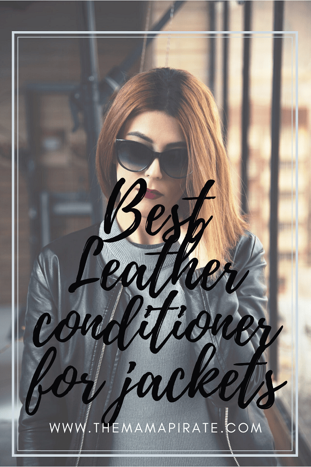 leather conditioner for jackets